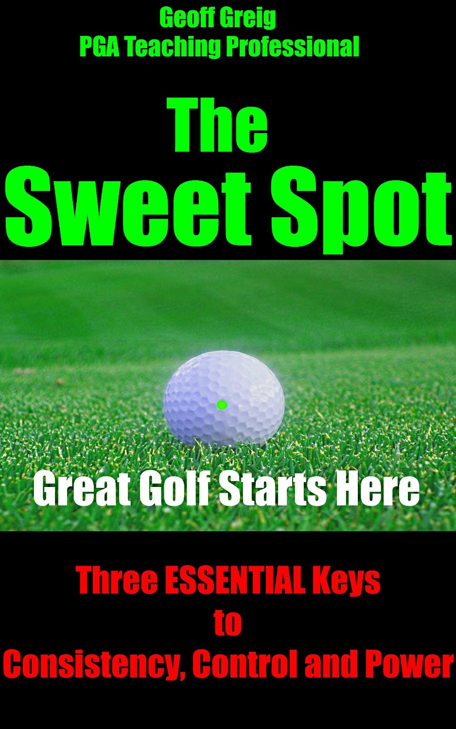 Sweet Spot Golf Book