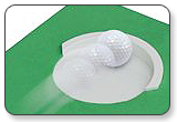 Eyeline Golf Perfect Line Mini Putting Mat