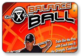 Golf Gym Balance Ball Workout