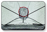 Izzo Big Mouth Instant Range Training Net 7 x 9 Feet