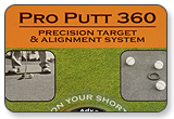 Pro Putt 360 - Golf Ball Liners / Practice Targets