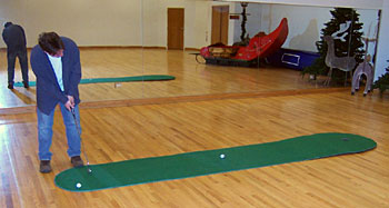 Big Moss Augusta EX Pro Golf Putting Green V2 - 4'x15'