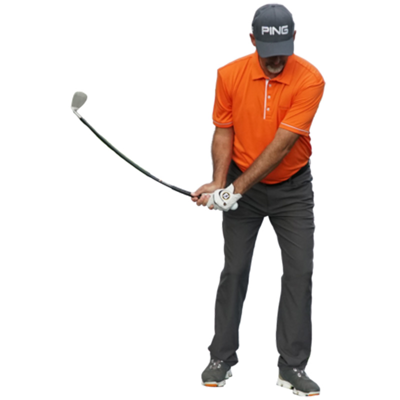 Orange Whip Wedge - Golf Trainer