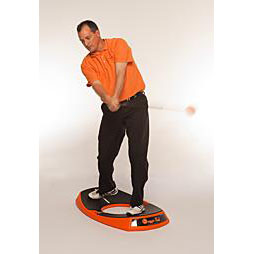 Orange Peel Golf Training Aid