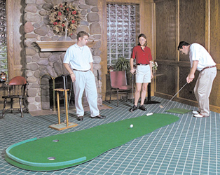 Big Moss Augusta Golf Putting Green V2 - 4'x12'