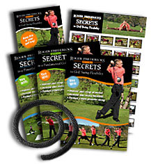 Roger Fredericks Secrets To Golf Swing Flexibility - DVD Set