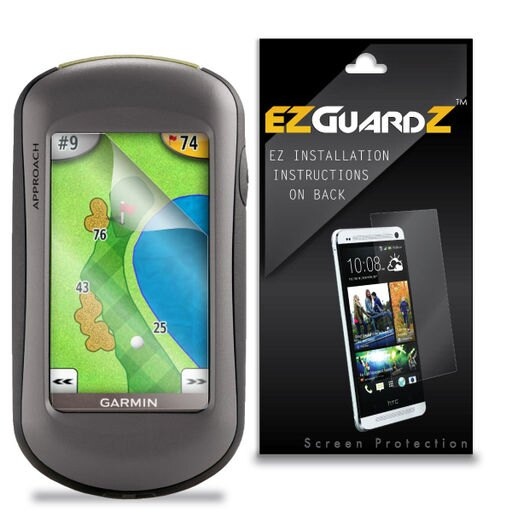 1X EZguardz LCD Screen Protector Shield HD 1X For Garmin Approach G5 Golf GPS