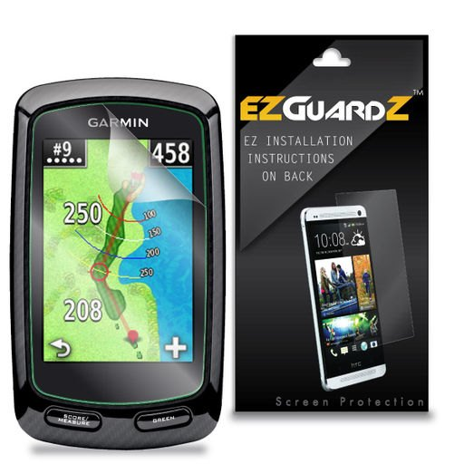 2X EZguardz LCD Screen Protector Cover HD 2X For Garmin Approach G6 Golf GPS