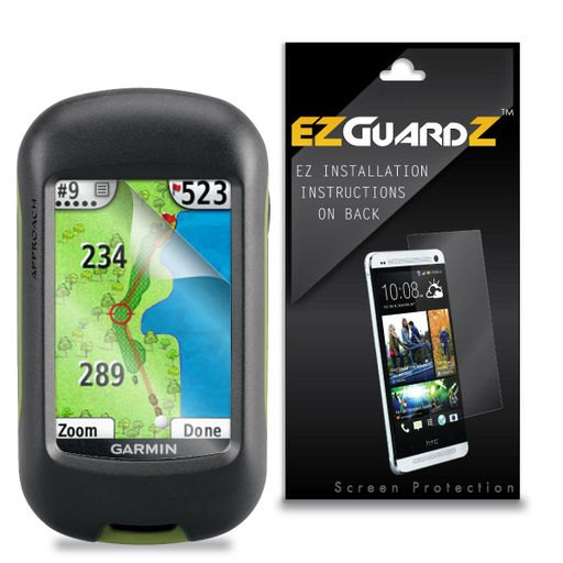 4X EZguardz LCD Screen Protector HD 4X For Garmin Approach G3 GPS (Ultra Clear)